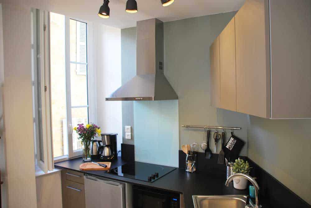 cuisine appartement de charme Sarlat