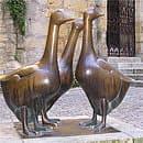 place de 3 oies à Sarlat