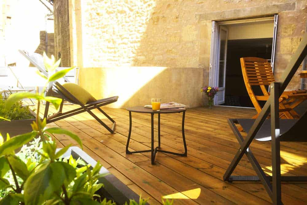 l'appartement secret à Sarlat avec belle terrasse