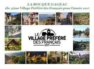 Village préféré des francais en 2017 la roque gageac