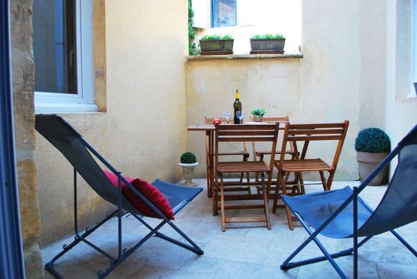 La Maison Secrète Sarlat location gite sarlat avec terrasse