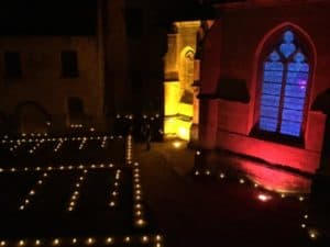 Sarlat en Dordogne : Sarlat à noël