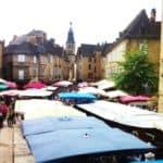 La Gastronomie en Périgord : : le marché de sarlat